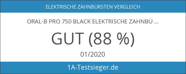 Oral-B PRO 750 Black Elektrische Zahnbürste