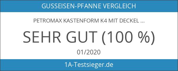 Petromax Kastenform k4 mit Deckel