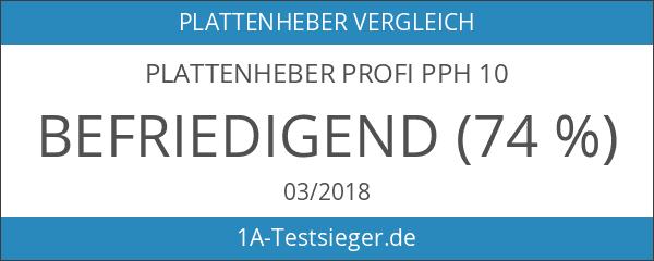 Plattenheber Profi PPH 10