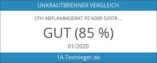 CFH Abflammgerät PZ 6000 52078