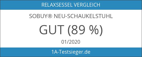 SoBuy® FST16-W Neu-Schaukelstuhl