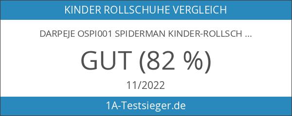 Darpeje OSPI001 Spiderman Kinder-Rollschuhe