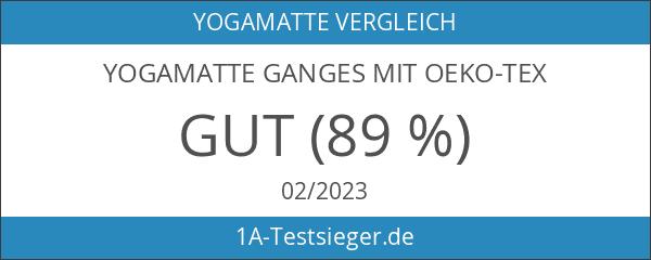 Yogamatte GANGES mit OEKO-TEX