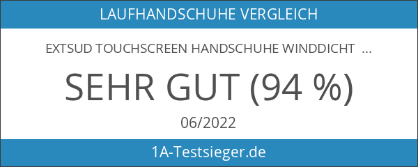 EXTSUD Touchscreen Handschuhe Winddicht Outdoor Laufhandschuhe Radfahren Jagd Sports Handschuhe