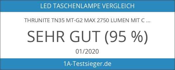 ThruNite TN35 MT-G2 Max 2750 Lumen mit CREE MT-G2 LED