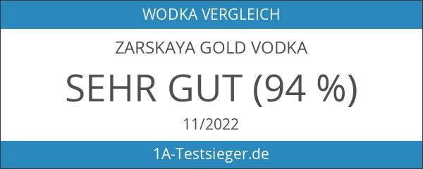 Zarskaya Gold Vodka