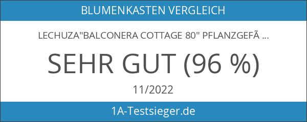 BALCONERA Cottage 80 Trendserie Komplett-Set granit 15612