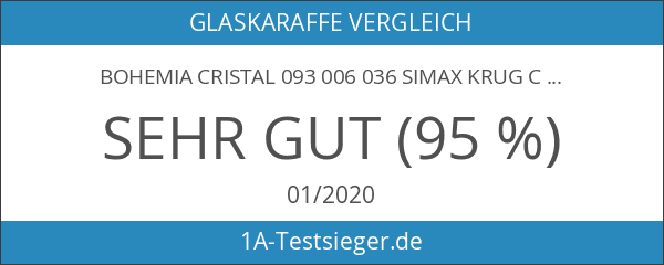 Bohemia Cristal 093 006 036 SIMAX Krug ca. 1500 ml