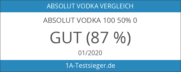 Absolut Vodka 100 50% 0