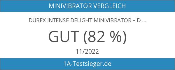 Durex Intense Delight Minivibrator – Diskretes Sexspielzeug mit leistungsstarker Vibration