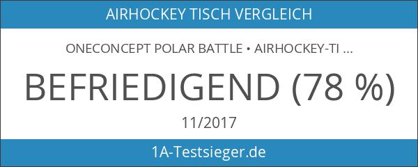 oneConcept Polar Battle • Airhockey-Tisch • Spieltisch • Lufthockey-Tisch •