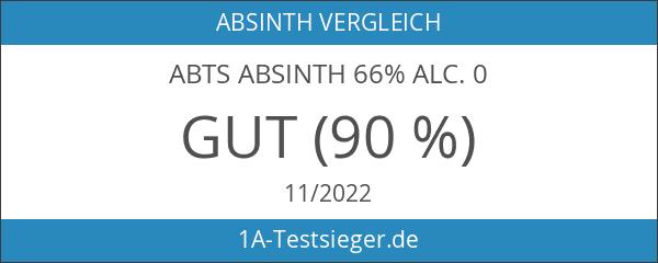 Abts Absinth 66% alc. 0