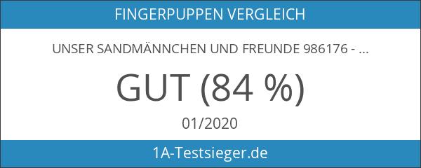 Unser Sandmännchen und Freunde 986176 - Fingerpuppen-Set 6-fach
