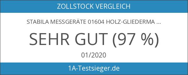Stabila Messgeräte 01604 Holz-Gliedermaßstab 907 gelb