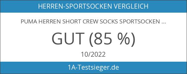 Puma Herren Short Crew Socks Sportsocken mit Frotteesohle 12er Pack