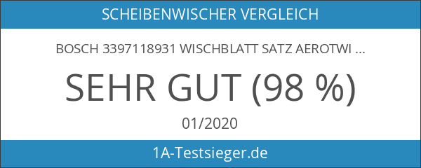 Bosch 3397118931 Wischblatt Satz Aerotwin A931S - Länge: 550