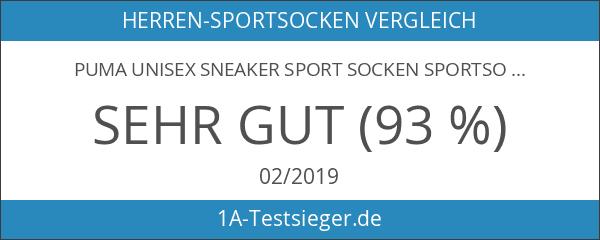 PUMA Unisex Sneaker Sport Socken Sportsocken Füsslinge 251025 im 6er