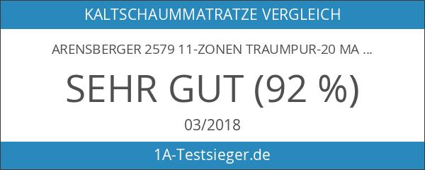 Arensberger 2579 11-Zonen Traumpur-20 Matratze RG30 mit Nanocell Kern