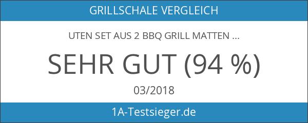 Uten Set aus 2 BBQ Grill Matten