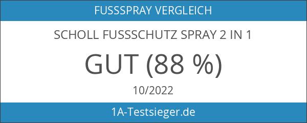 Scholl Fussschutz Spray 2 in 1