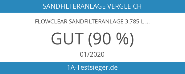 Flowclear Sandfilteranlage 3.785 l