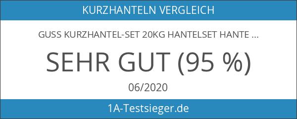 Guss Kurzhantel-Set 20Kg Hantelset Hanteln Gewichte