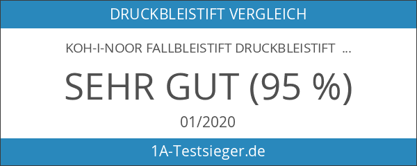 KOH-I-NOOR Fallbleistift Druckbleistift 5353 Versatil Set
