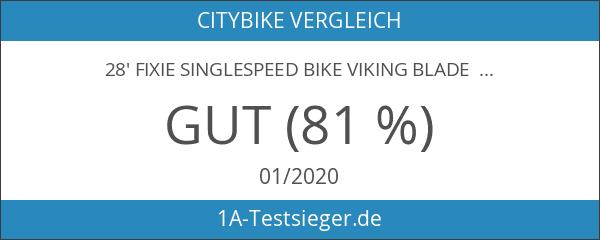 28' Fixie Singlespeed Bike Viking Blade 5 Farben zur Auswahl