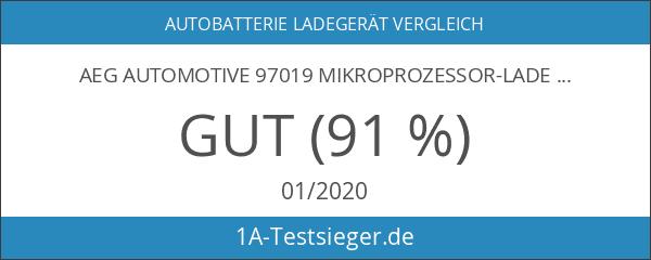 AEG Automotive 97019 Mikroprozessor-Ladegerät LL 10.0 Ampere für 12 und