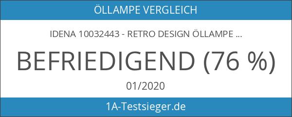 Idena 10032443 - Retro Design Öllampe