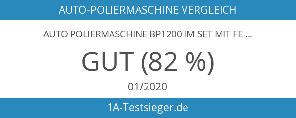 Auto Poliermaschine BP1200 im Set mit Festool Politur