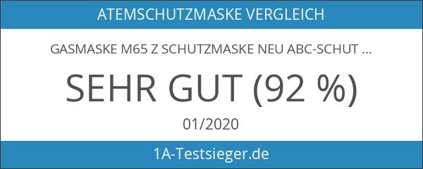 GASMASKE M65 Z Schutzmaske Neu ABC-Schutz von Dräger