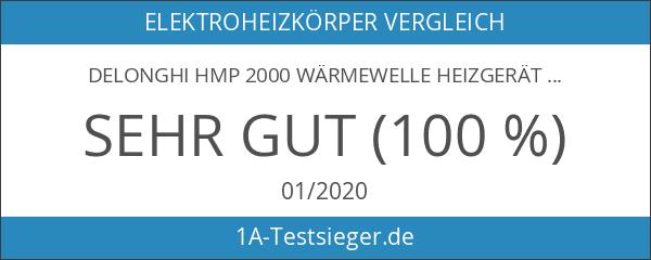 DeLonghi HMP 2000 Wärmewelle Heizgerät schwarz