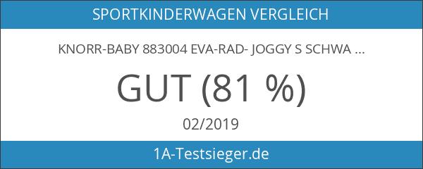 knorr-baby 883004 EVA-Rad- Joggy S schwarz-blau