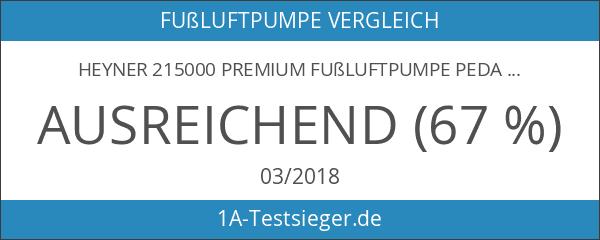 Heyner 215000 Premium Fußluftpumpe Pedal-Power