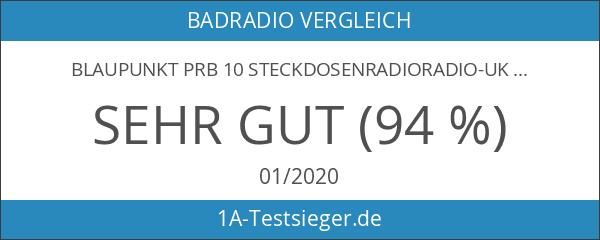 BLAUPUNKT PRB 10 Steckdosenradioradio-UKW PLL Küchenradio-Bluetooth-Lautsprecher mit Freisprecheinrichtung - AUX-IN-Anschluss