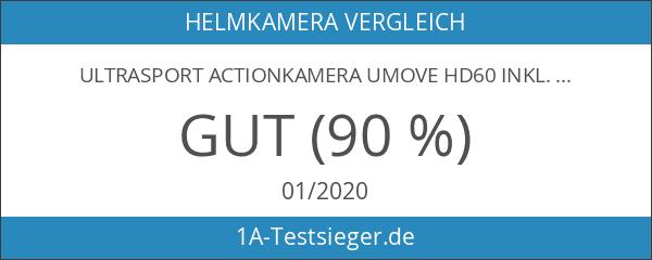 Ultrasport Actionkamera UmovE HD60 inkl. Zubehör