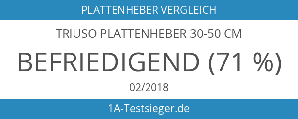 TRIUSO Plattenheber 30-50 cm