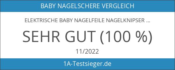 Elektrische Baby Nagelfeile Nagelknipser set - 6 in 1 Maniküre