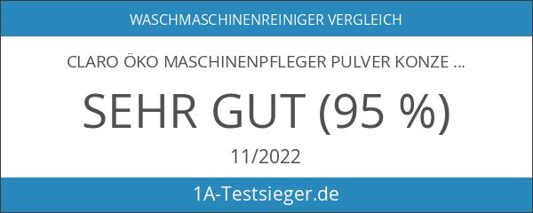 claro Öko Maschinenpfleger Pulver Konzentrat 160g
