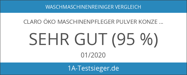 claro umweltschonender Maschinenpfleger Pulver Konzentrat Maschinen Reiniger - 1 Stück