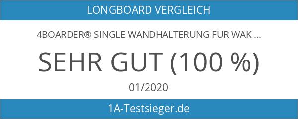 4boarder® SINGLE Wandhalterung für Wakeboard