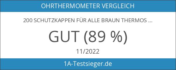 200 Schutzkappen für alle Braun Thermoscan Ohrthermometer