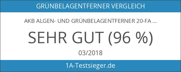 AKB Algen- und Grünbelagentferner 20-Fach Hochkonzentrat