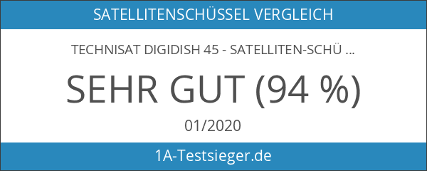TechniSat DIGIDISH 45 - Satelliten-Schüssel