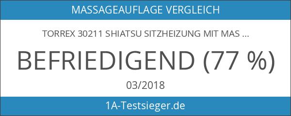 Torrex 30211 SHIATSU Sitzheizung mit Massagefunktion 12V mit 7 Massagemotoren