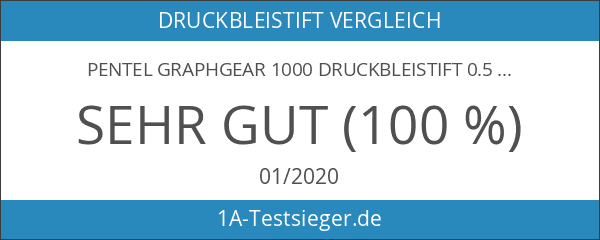Pentel Graphgear 1000 Druckbleistift 0.5 millimeters