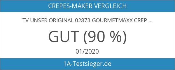 TV Unser Original 02873 Gourmetmaxx Crepe-Maker Keramik