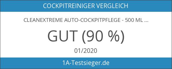 CLEANEXTREME Auto-Cockpitpflege - 500 ml - Werterhaltende Kunststoffpflege