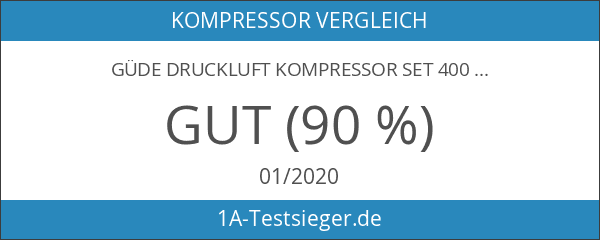 Güde Druckluft Kompressor Set 400